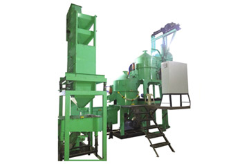 Solid Resin Sand Coating Plants